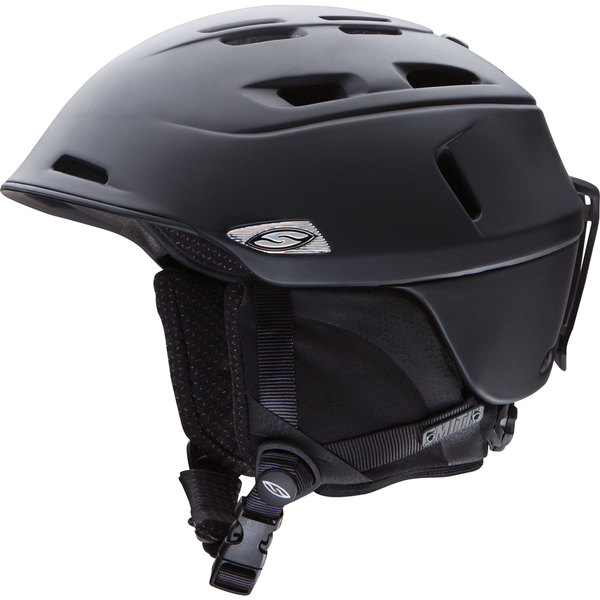 Smith Camber Matte Black Snow Helmet