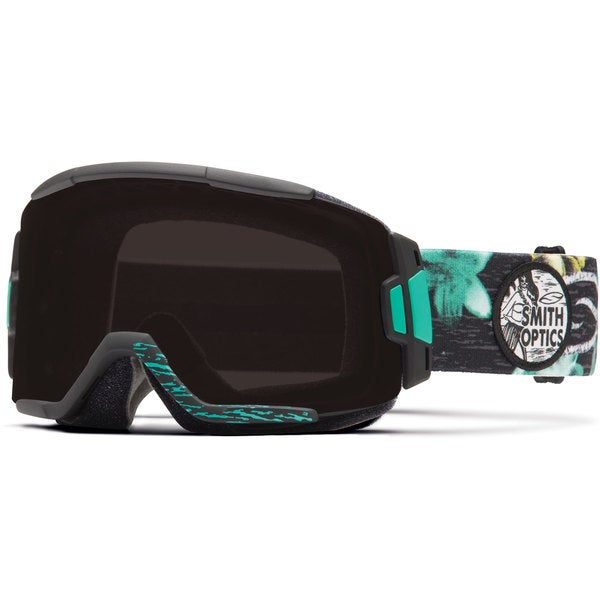 Smith Squad 2015 Sunset Palm Blackout Interchangeable Goggles