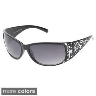 Epic Women's 'Hilton' Rectangle Fashion Sunglasses