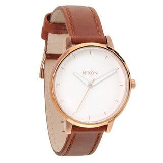 Nixon Women's A1081045-00 Kensington Quartz White Dial Watch