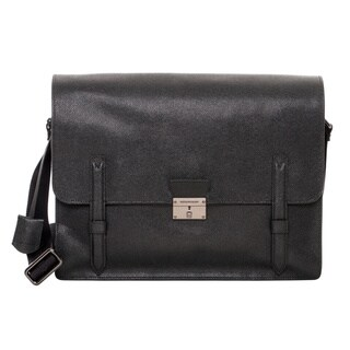 Burberry 'Rivendale' Small Leather Messenger Bag