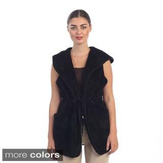 Hadari Women's Fleece Hoodie Vest