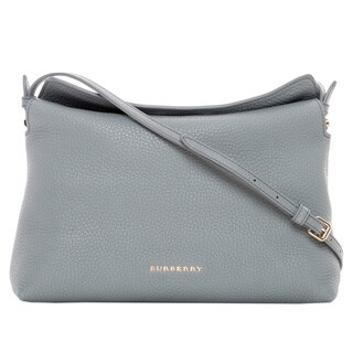 Burberry Leah Small Grainy Leather Shoulder Bag