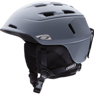 Smith Camber Matte Charcoal Snow Helmet