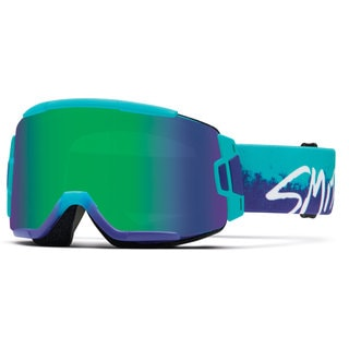 Smith Squad 2015 Purple Fade Kook/Green Sol-X Interchangeable Goggles