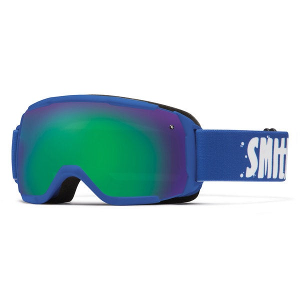 Smith Optics 2015 Grom Kid's Cobalt/Green Sol-X Goggles