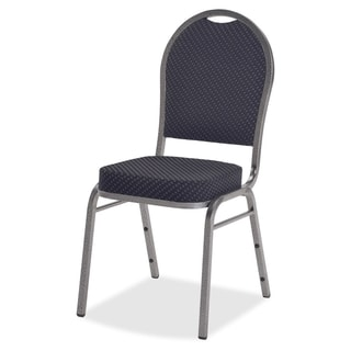 Lorell Upholstered Cushion Stacking Chairs