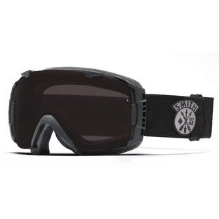 Smith Optics 2015 Blackout Black Sabotage IO Goggles