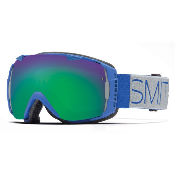 Smith Optics 2015 Cobalt Block Green Sol-X IO Goggles
