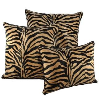 Sherry Kline Zebroides Plush Combo Throw Pillows (Set of 3)