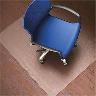 Lorell Nonstudded Design Hardwood Surface Chair Mat