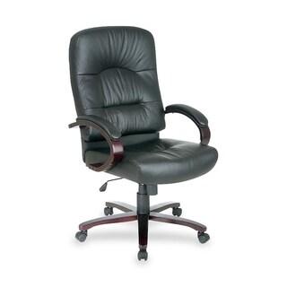 Lorell Woodbridge Series Executive High-back Chair