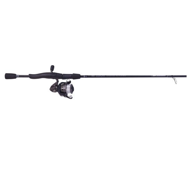Zebco 33 Atac Spin Combo, Medium 6-foot Black