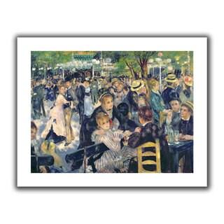 Pierre Renoir 'Ball at the Moulin de la galette' Unwrapped Canvas