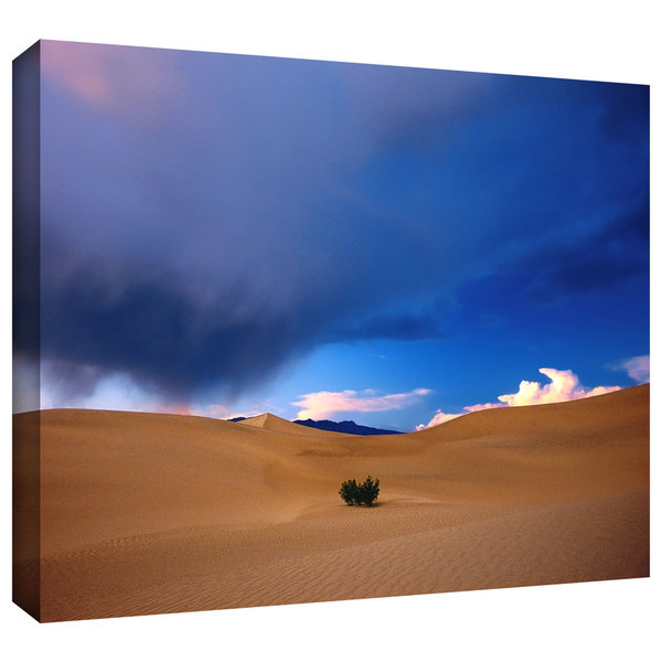 Dean Uhlinger 'Death Valley Winter' Gallery-wrapped Canvas