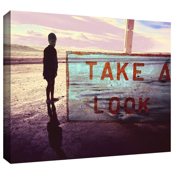 Dean Uhlinger 'Take a Look' Gallery-wrapped Canvas