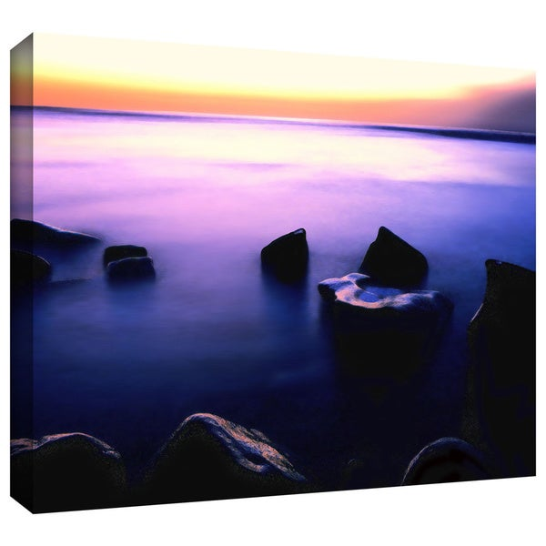 Dean Uhlinger 'Pacific Afterglow' Gallery-wrapped Canvas - Multi 22108907