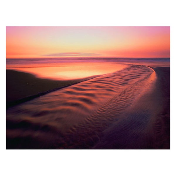 Dean Uhlinger 'Back to the Sea' Unwrapped Canvas