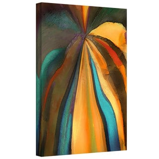 Dean Uhlinger 'Convergence 6' Gallery-wrapped Canvas