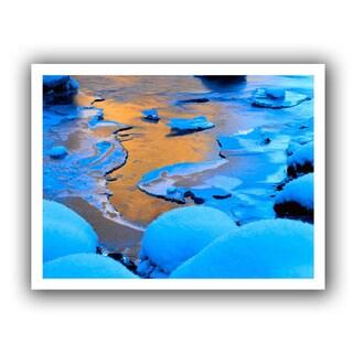 Dean Uhlinger 'Merced River Sunset - Yosemite' Unwrapped Canvas