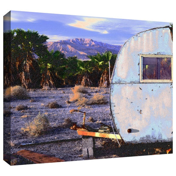 Dean Uhlinger 'The Last Resort' Gallery-wrapped Canvas