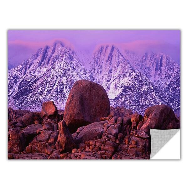 Dean Uhlinger 'Sierra Sunrise' Removable Wall Art - Multi 14185156