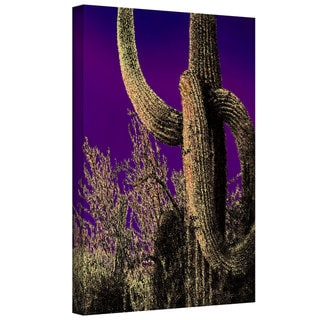 Dean Uhlinger 'Moonlight Guide' Gallery-wrapped Canvas - Multi