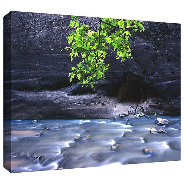 Dean Uhlinger 'Rogue River Ripples' Gallery-wrapped Canvas