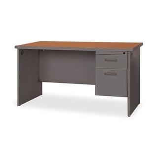 Lorell Durable Single Pedestal Desk