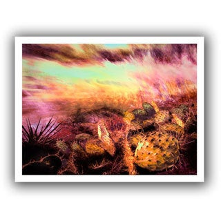 Dean Uhlinger 'A Southwest Wind' Unwrapped Canvas
