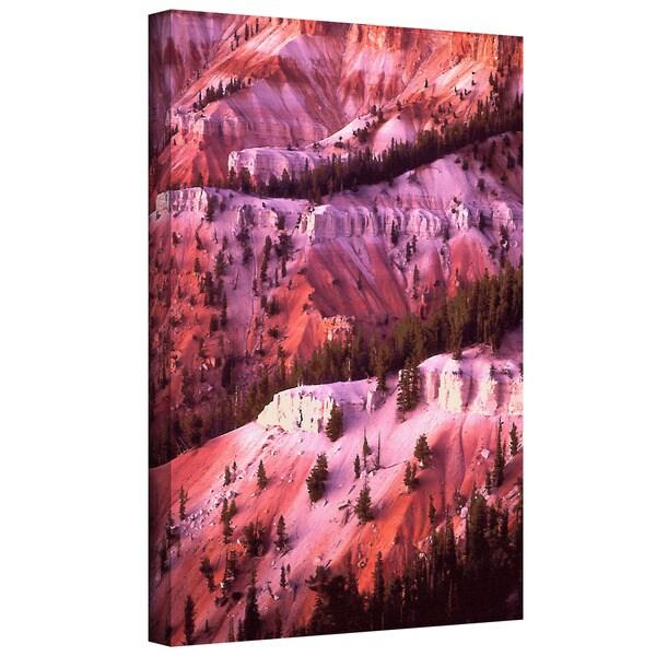 Dean Uhlinger 'Cedar Breaks Twilight' Gallery-wrapped Canvas