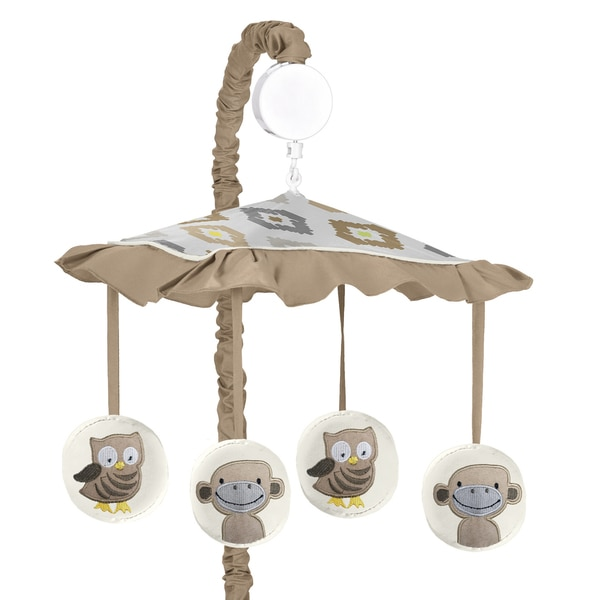 Sweet Jojo Designs Safari Outback Crib Mobile
