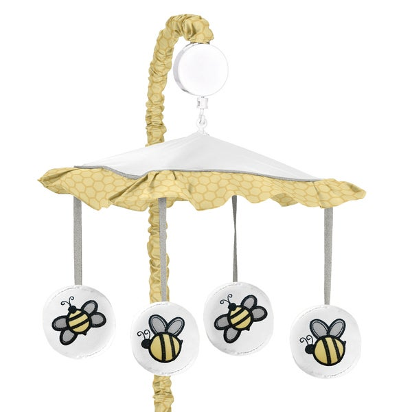 Sweet Jojo Designs Honey Bumble Bee Crib Mobile