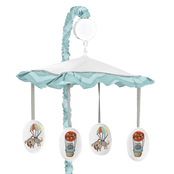 Sweet Jojo Designs Balloon Buddies Crib Mobile