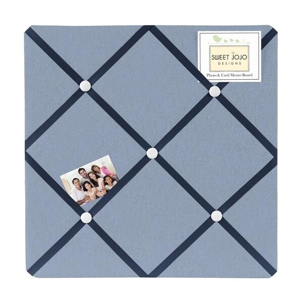 Sweet Jojo Designs Ocean Blue Fabric Photo Bulletin Board