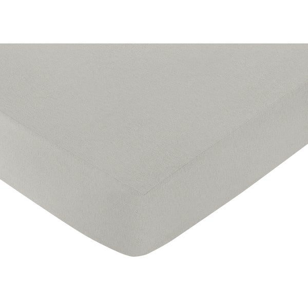 Sweet Jojo Designs Bumble Bee Grey Fitted Crib Sheet