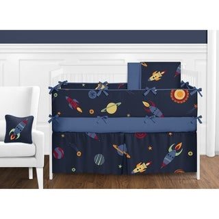 Sweet Jojo Designs Space Galaxy 9-piece Crib Bedding Set