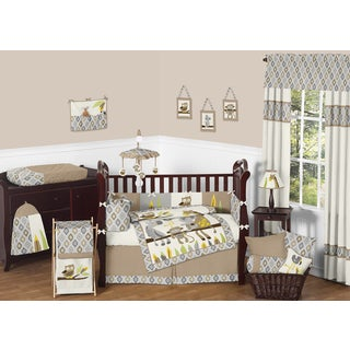 Sweet Jojo Designs Safari Outback 9-piece Crib Bedding Set