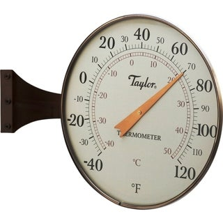 8.5-inch Dial Thermometer Bronze