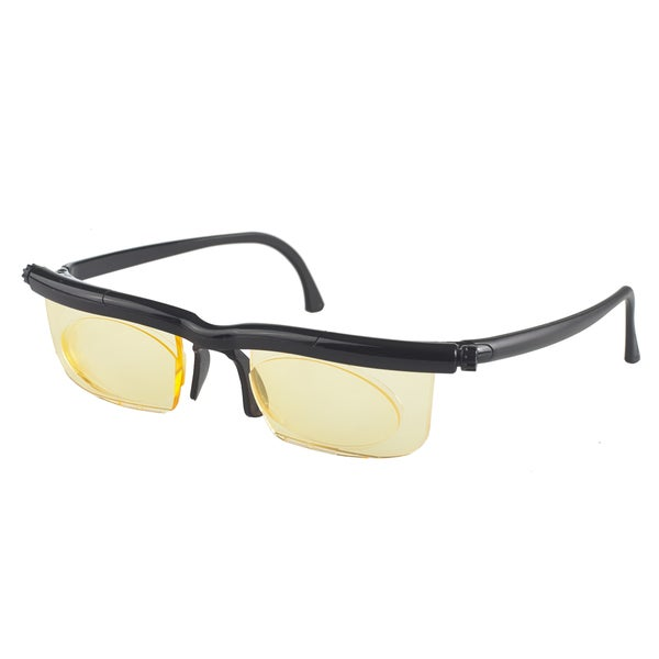 Interface Black Frame Protective Eye Wear with Yellow Lense