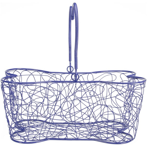 "Multi Purpose Basket 14""X9""X7""-Blue"