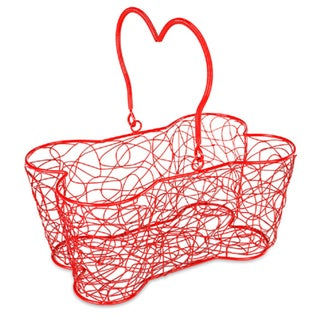 "Multi Purpose Basket 14""X9""X7""-Red"