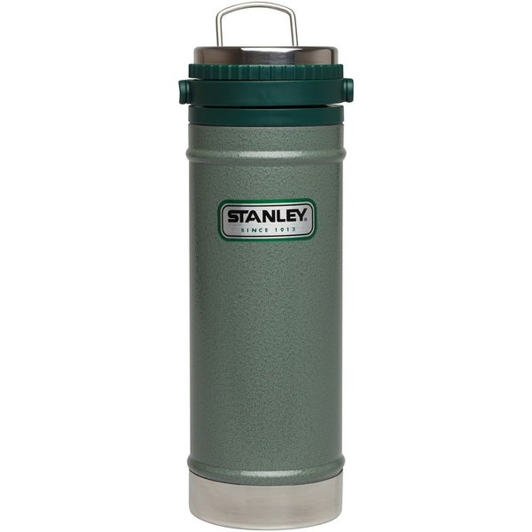 Stanley Classic 16-ounce Vacuum Travel Press, Hammertone Green