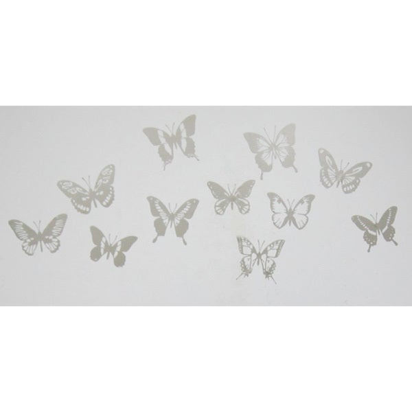 Butterfly Stamps Wall Art Stickers