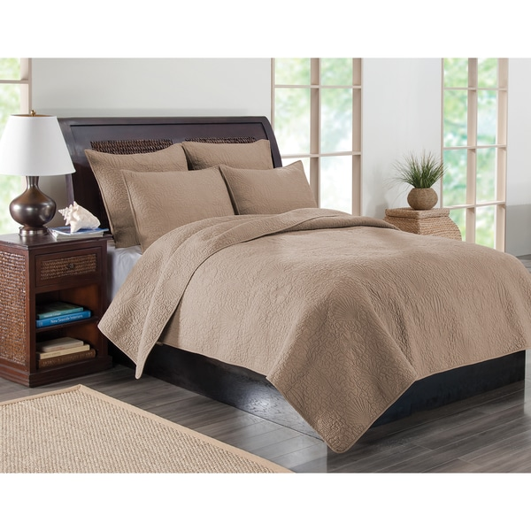 Kona Quilt Set and Euro Sham Separates