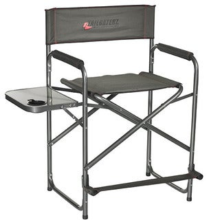 Tailgaterz Take-Out Seat Steel Chair with Side Table
