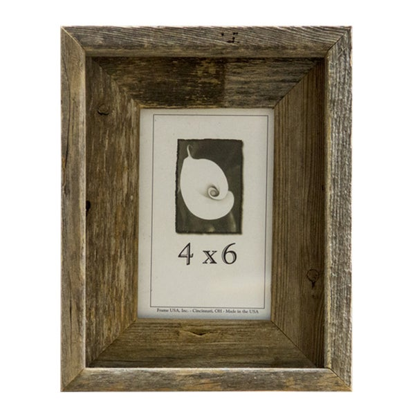 Barnwood 4x6 Picture Frame