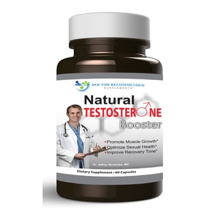 Doctor Recommended Natural Testosterone Booster (60 Capsules)