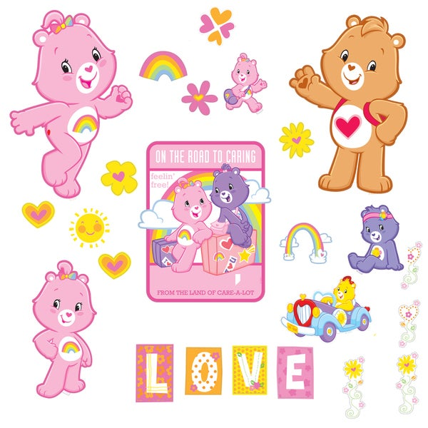 Care Bears Wall Appliques