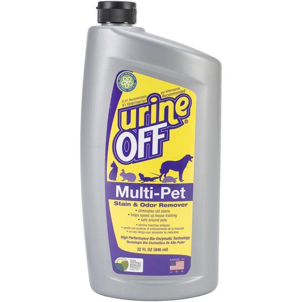 Urine Off Multi-Pet 32oz Oval Bottle W/Carpet Injector Cap